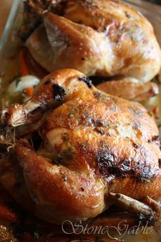 Ina Garten's Perfect Roast Chicken With A StoneGable Twist – StoneGable - Roasted Chicken Ina Garten Roast Chicken, Roast Chicken Recipes, Chicken Meals, Chicken Recepies, Chicken Bites, Ranch Chicken, Chef Recipes, Food Network Recipes, Cooking Recipes