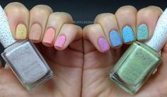 Rainbow nails com Kikos Cupcake <3   Flickr – Compartilhamento de fotos!