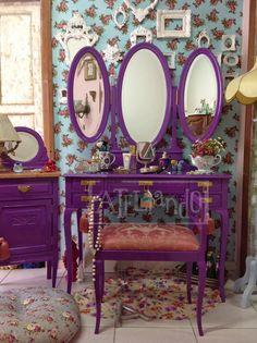 Ateliando - Customização de móveis antigos: Penteadeiras Antigas...