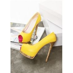 Fashion Sexy Pink/ Black /Yellow Color Lady High Heels Noble Women Sandals Shoes