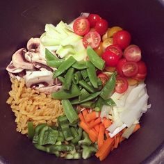 #onepotpasta for dinner! One Pot Pasta, Spicy Recipes, Cobb Salad, Yummy Food, Dinner, Diy, Dining, Delicious Food, Bricolage