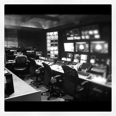 Where will our director sit during season 7? Take a look at our new control room!