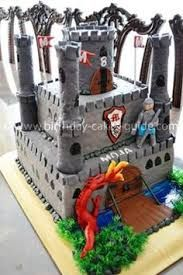 Image result for boys castle cakes