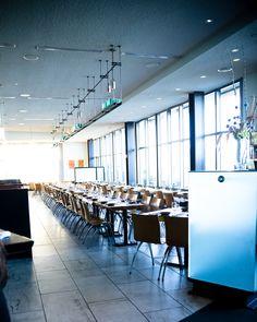 Slanted Door - Restaurant - San Francisco - HERE Slanted Door, San Fransisco, Conference Room, Restaurant, Doors, Table, Furniture, Home Decor, Decoration Home
