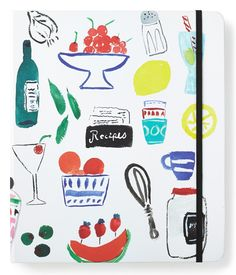 Keeping the favorite recipes organized in this cute and handy Kate Spade book featuring category tabs for easy reference.