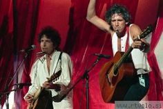 Bob Dylan in Keith Richards