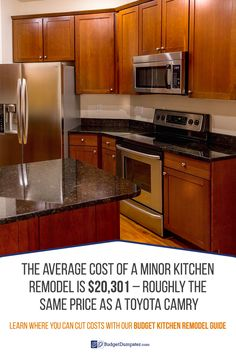 The average kitchen remodel costs as much as a car. You can save more on your…