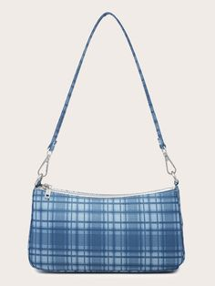 Romwe, Plaid Purse, Leather Bags Handmade, Cute Bags, Vintage Leather, Baguette, Tote Handbags, Casual, Shopping Bag