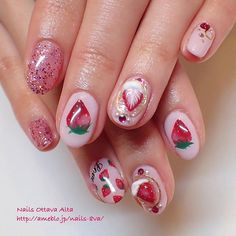 Manicure Warmers- Why They are Handy Kawaii Nail Art, Cute Nail Art, Cute Nails, Hair And Nails, My Nails, Pretty Nail Colors, Cute Acrylic Nails, Glitter Nails, Japanese Nails