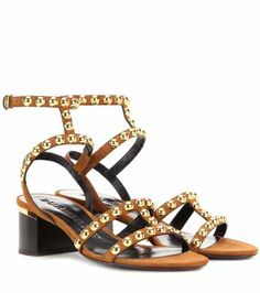 Philly embellished suede sandals | Burberry Brit