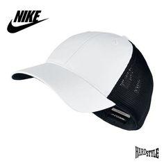 Nike Legacy 91 Mesh Cap Golfcap Baseball Cap Basecap Weiß Schwarz