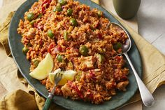 Cooked in the rice cooker, this dinner is easy AND delicious! Chicken Bacon, Chicken Recipes, Chorizo Rice, Smoked Paprika, Rice Cooker, Dinner Tonight, Main Meals, Fried Rice, Gluten Free Recipes