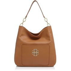 Tory Burch Britten Hobo ($495) ❤ liked on Polyvore
