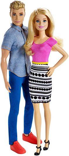 d3e7684965b Barbie and Ken Doll 2-pack (Amazon Exclusive) Barbie Und Ken