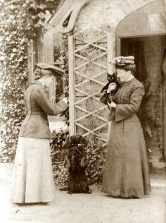 Victorian Ladies and pets - UK