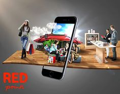 Vodafone Red activation in City Stars mall to announce Vodafone Red points system Food Graphic Design, Food Poster Design, Web Design, Creative Poster Design, Website Design Layout, Ads Creative, Creative Posters, Creative Advertising, Advertising Design