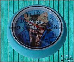 Lara Artes: Tuneando reloj de ikea - tutorial