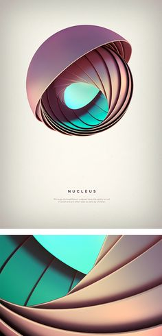 Revolved forms: Digital Art by Črtomir Just
