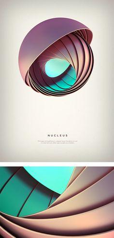 Revolved forms: Digital Art by Črtomir Just