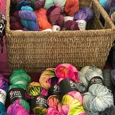 For the Month of May my Mother of Purl will be the guest dyer at @theknitstudiouk pop along and say hi to Anne and Katya and have a squish at the pretties!!