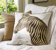 pillows | Decorative Pillows from Pottery Barn Wild Animals Decorative Pillows ...