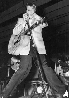 Toledo, November 21, 1956 - Love Me Tender, which was released nationally that day, began its run at Toledo's Paramount Theater. The city's teenagers had the opportunity to see Elvis on the big screen in the afternoon and then see him live on stage the same evening.