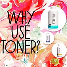 Toner balances the skin's PH, which may be disrupted during the cleansing process. It also works to prep the skin for moisturizers, serum, and other treatments. Toner helps remove residual dirt, makeup, oil, and other impurities. Specific toners address certain skin concerns, including sensitivity, acne, and anti-aging. All Rodan + Fields products come with a 60 day money back guarantee. Nothing to lose.