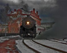 old train railway
