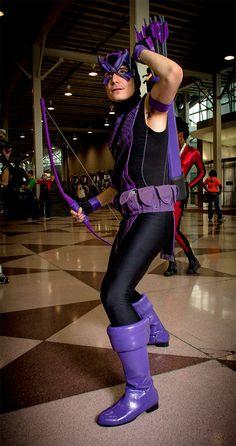 awesome Hawkeye cosplay