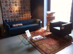 Gelderland bank en fauteuil 4800 design Henk Vos @Plaisierinterieur #gelderlandbank #dutchdesign #henkvos