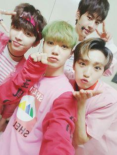 Hwanhee, Bitto, Wei & Sunyoul