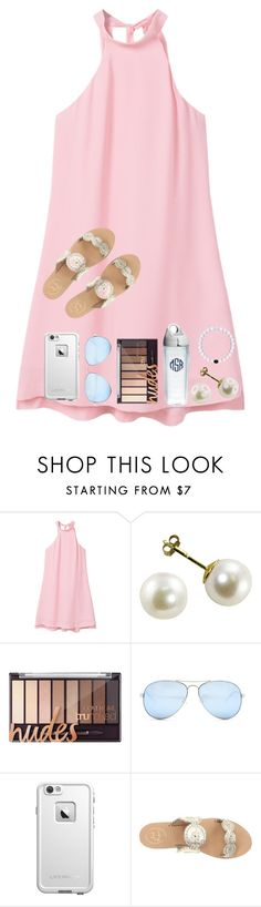 """""""all about me tag in d!"""" by nc-preppy-living ❤ liked on Polyvore featuring MANGO, Tervis, GUESS, LifeProof and Jack Rogers"""