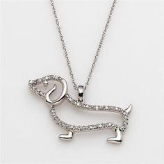 Dachshund necklace. For Kerry :)