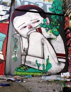 SETH GLOBEPAINTER A huge French graffiti muralist.