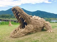 Fall is a season of harvesting, and festivals to celebrate it are currently taking place all over the world. In Northern Japan, the Wara Art Festival recently rang in the September-October rice season, and it's a wildly inventive and fun way to repurpose rice straw left over from the harvest.