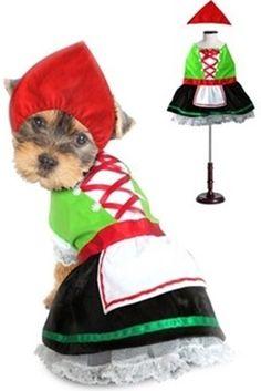 Oktoberfest Bavarian Alpine Girl -  Dog Costume - Daisey's Doggie Chic - 2
