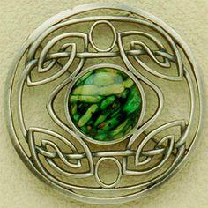 Celtic design, silver, heathergems - made in Pitlochry Scotland. love love love!
