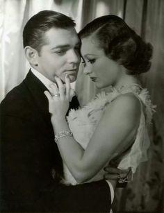 Clark Gable and Joan Crawford