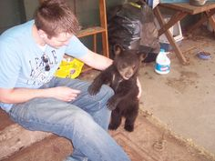 I wish bears stayed this size.