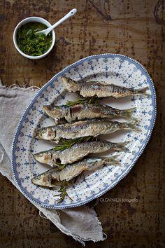 Nina's Kitchen: Sardinas asadas con gremolata