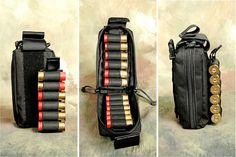 S & J Hardware :: shop :: Shell Holders :: Detachable shotshell carrier pouch MkIII :: english Tactical Shotgun, Tactical Gear, Tactical Wall, Military Armor, Military Guns, Weapons Guns, Guns And Ammo, Combat Shotgun, Ammo Storage