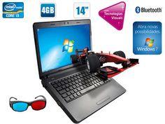 Um notebook 3D, deve ser demais. Você pode assistir vídeos e fotos em 3 dimensões. Demais \o/    http://maga.lu/notebook-3d