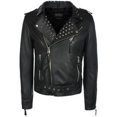 Studded Jacket Men's Black, $449, now featured on Fab.