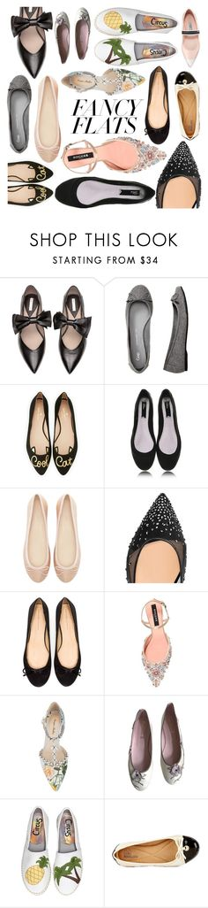 """""""Flats Collection"""" by creation-gallery ❤ liked on Polyvore featuring Gap, Kate Spade, Blink, Zara, Christian Louboutin, Rochas, Monique Lhuillier, Pretty Ballerinas, Circus by Sam Edelman and Modellista"""