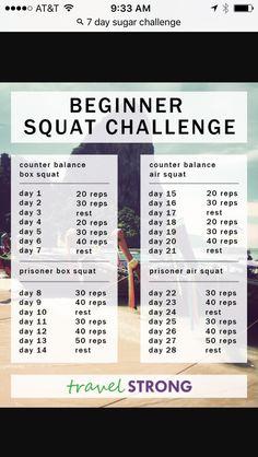 Beginner squats