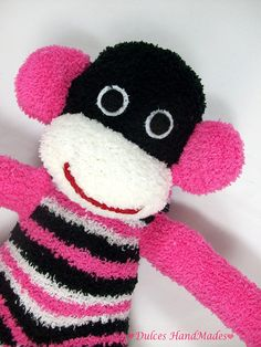 Sold.... but sooooo cute! Sock monkey