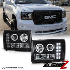 2 OEM CHEVROLET SILVERADO GMC SIERRA 4X4 DECALS 2007 1500 2500 HD 3500 HD Pair