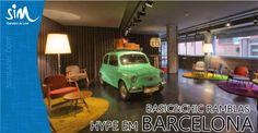 Vai para Barcelona? Conheça este hotel... TOP! Estiloso e de preço camarada, diárias desde 87 euros, o Chic&Basic Ramblas é o novo cool barceloneta. Leia mais em: http://multticlique.com.br/blog/good-vibes/barcelona-sob-medida/