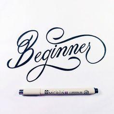 Inspiration hand lettering avec Christopher Craig