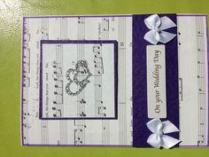 Wedding card by Bethany Looijenga